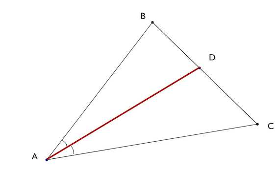 биссектриса треугольника