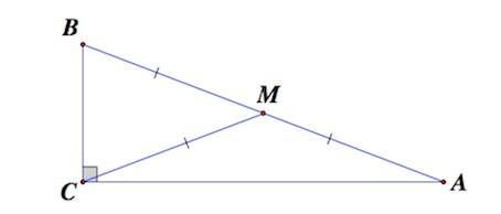 медиана треугольника, свойства медианы треугольника, медиана в прямоугольном треугольнике