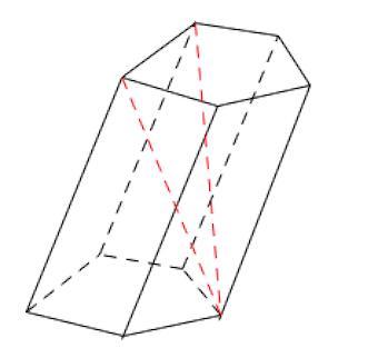 диагонали призмы