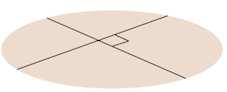 перпендикулярные прямые на плоскости