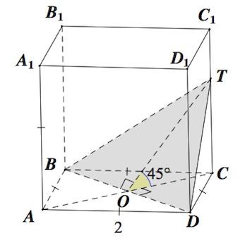 площадь ортогональной проекции