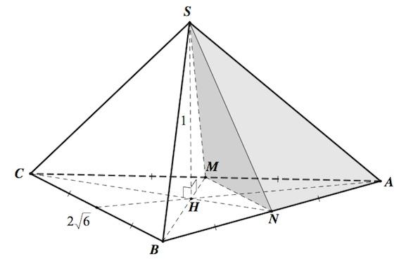 тетраэдр правильный