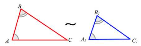 triangulos semejantes