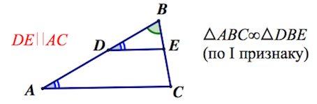 triángulos similares